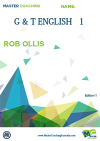 Gifted and Talented English Book 1