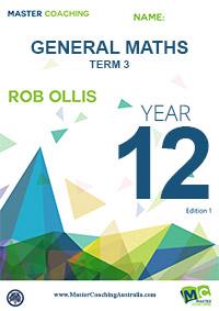 Year 12 General Maths Term 3