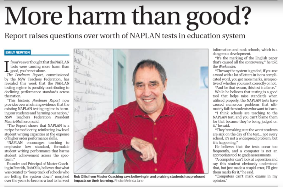 NAPLAN - More harm than good