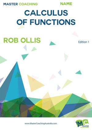 Year11 Advance Topic Books Calculus of Functions