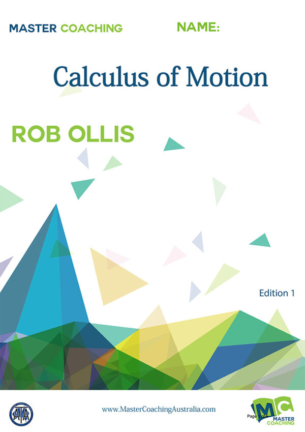 Year11 Advance Topic Books Calculus of Motion