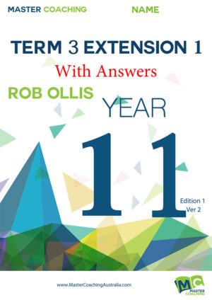 Year11 Extension1 Term3
