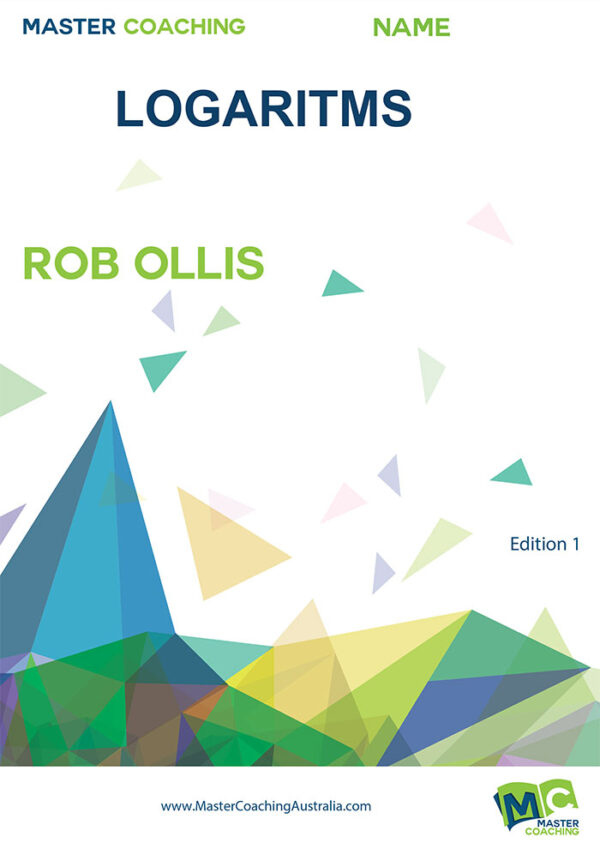 Year11 Topic Books Logarithms