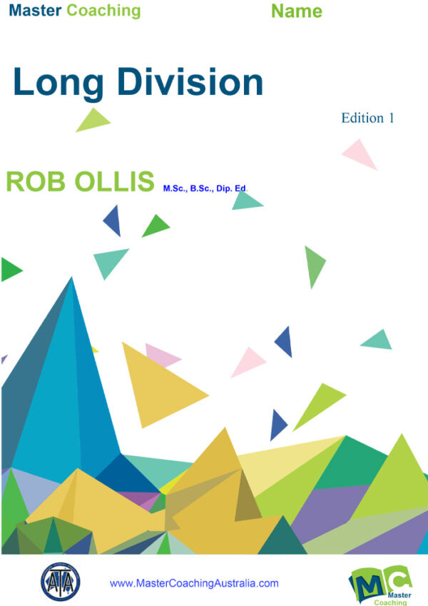 Year7 Topic Books Long Division Comb